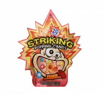 Striking, Popping Candy Peach 1.06oz