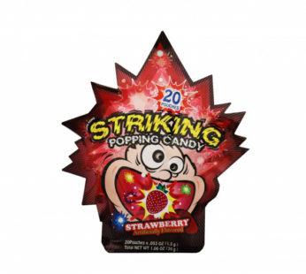 Striking, Popping Candy Strawberry 1.06oz