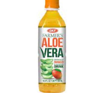 OKF, Aloe Drink Mango 16.9oz