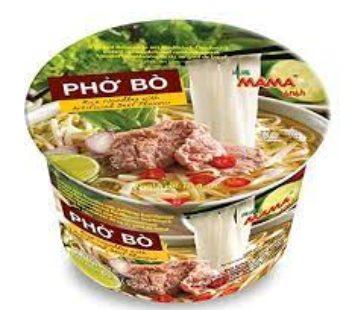 Mama, Rice Ndl Beef Bowl Pho Bo 2.29oz (6)