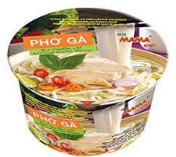 Mama, Rice Ndl Chkn Bowl Pho Ga 2.29Oz (6)