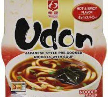 Myojo, Bowl Udon Hot & Spicy 5.60oz (6)
