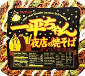 Myojo, Ippei Yomise Yakisoba Cup 4.77oz