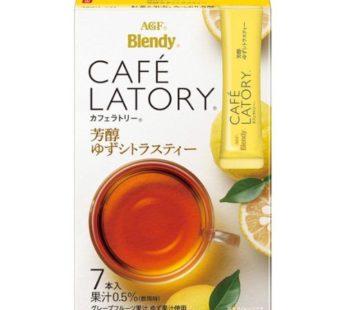AGF, Blendy Cafe Latory Yuzu Citrus Tea 2.5oz