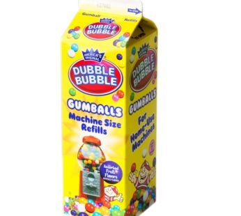 Concord Dubble Bubble Asstd Gumballs Refill 20oz (24)