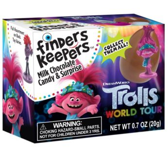 Finders Keepers, Trolls Surprise w/Milk Choc 0.70oz (6)