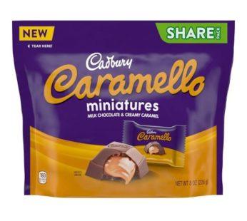 Hershey, Cadbury Caramello Mini's Share Pack Sub 8oz