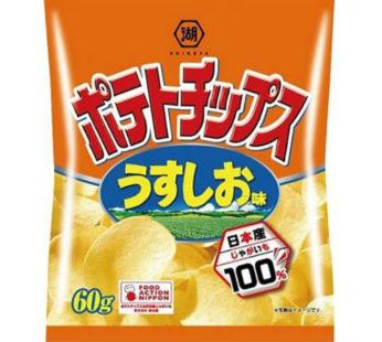 Koikeya, Potato Chips Salt 1.83oz (10)