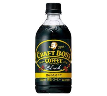 Suntory, Boss Craft Black Coffee 16.9 fl. oz (24) SRP4.99
