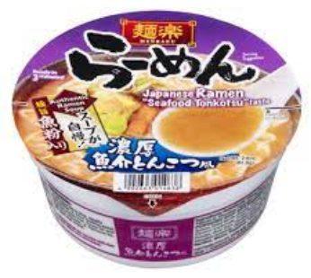 Hikari, Menraku Ramen Seafood Tonk 2.9oz (12)