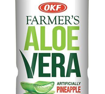 OKF, Aloe Drink Pineapple 16.9oz