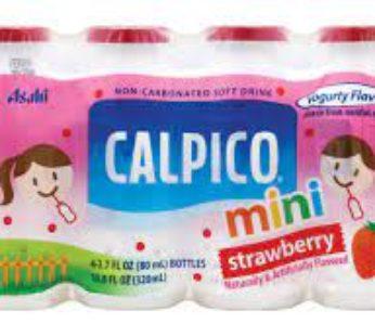 Calpico, Mini Strawberry 2.70 fl. oz (40) SRP3.99