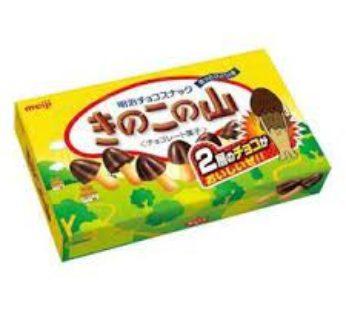 Meiji, Baked Wheat Biscuit Kinikono Yama 2.4oz (10)