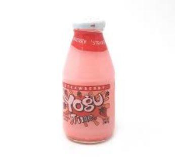 Yogu, Time Strawberry 10.00 Fl. oz (12) SRP3.99