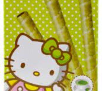 Hellokitty, Wafer Cookies Green Tea 1.76oz (4×12)