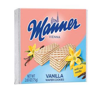 Manner, Wafer Vanilla 2.65oz