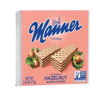 Manner, Wafer Hazelnut 2.65oz