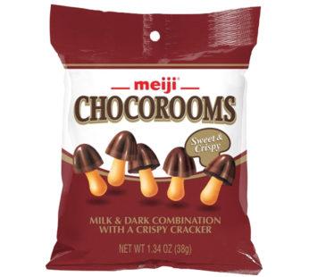 Meiji, Chocorooms Sweet & Crispy 1.34oz