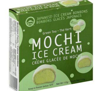 Mt. Fuju, Mochi Ice Cream Individual Pack Cream Green Tea 1oz