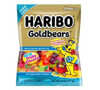 Haribo, Peg Bag Gold Bears Summer Edition 4oz (12) SRP2.99