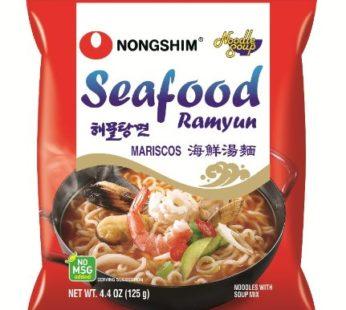 Nong Shim Spicy Seafood Noodle Soup 4.4oz
