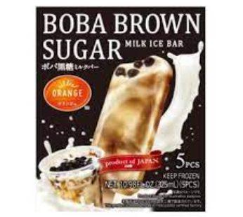 Orange, Boba Kokuto Milk Bar 10.98fz