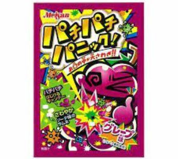 Meiji, Pachipachi Panic Grape 0.17oz (12×20)