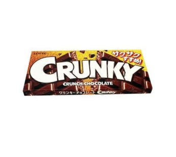 Lotte, Crunky Chocolate 1.58oz