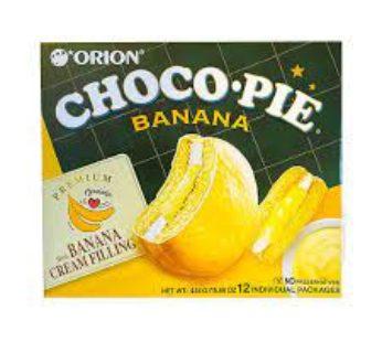 Orion, Chocopie Banana Flavored 12pk 1.3oz