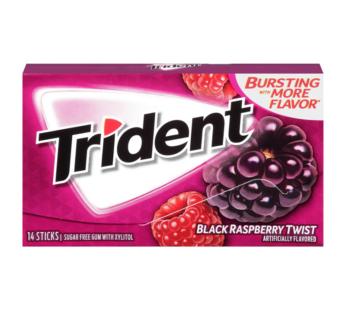 Trident Single 14pc Black Raspberry Twist