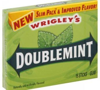 Wrigley Slim Pack 15 Stick Double Mint