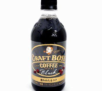Suntory, Boss Craft Black Coffee Premium 11.83 fl. oz (24) SRP3.99