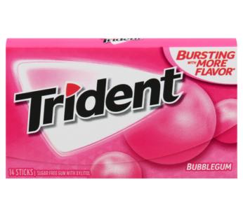 Trident Single 14pc Bubblegum