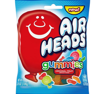 Airheads, Peg Bag Gummies 3.8oz