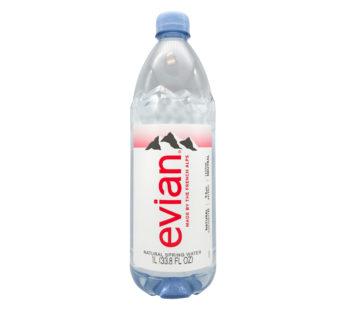 Evian, Natural Spring Water 33.8 fl oz