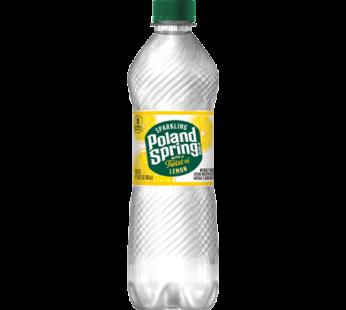 Poland Spring, Sparkling Water Lemon 16.9 fl oz