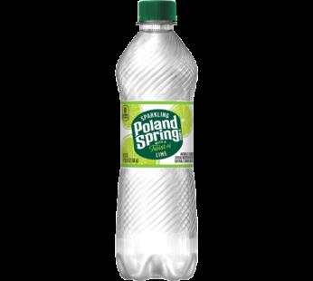 Poland Spring, Sparkling Water Lime 16.9 fl oz
