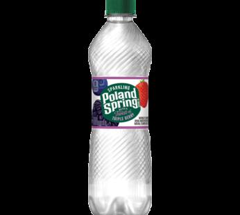 Poland Spring, Sparkling Water Triple Berry 16.9 fl oz