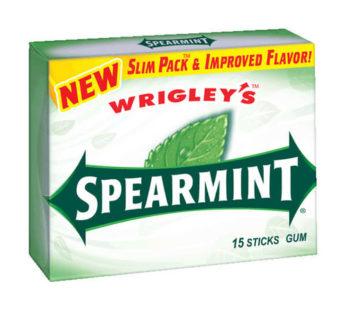 Wrigley Extra Slim Pack 15 Stick Spearmint