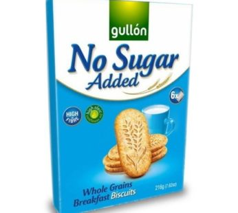 Gullon, No Sugar Added Multi Grains Breakfast Biscuits w/Whole Grains 7.62oz