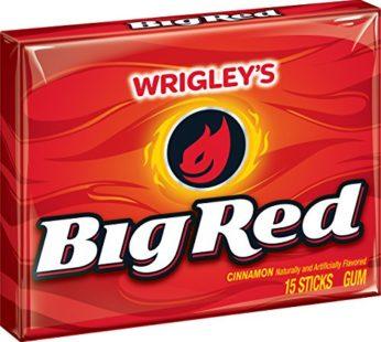Wrigley Slim Pack 15 Stick Big Red