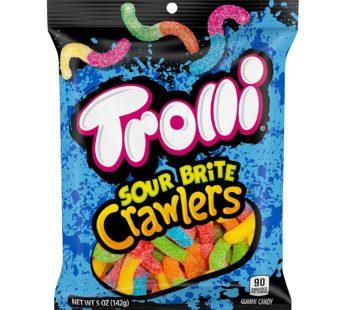Trolli, Peg Bag Sour Crunchy Crawlers 5oz