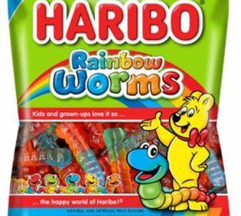 Haribo, Peg Bag Rainbow Worms 5oz (12) SRP2.99