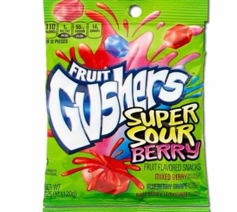 Gushers, Super sour Berry 4.25oz