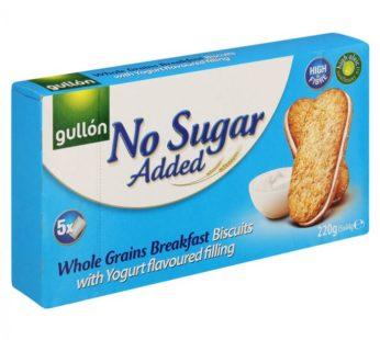 Gullon, No Sugar Added Whole Grains Breakfast Biscuits Yogurt w/Whole Grains 7.76oz