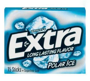 Wrigley, Extra Slim Pack 15 Stick Polar Ice